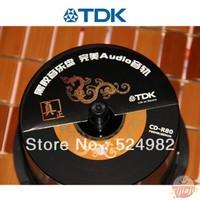 HOT- 2013 NEW , TDK Blank disc,High quality A+++,Car special Vinyl CD-R,Black,700M,40X,80min,50CDs/lot,Free shipping