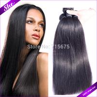 Cheap 6A brazilian virgin hair straight 4pcs free shipping,brazilian virgin hair weaves can be dyed,soft human hair extension