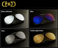 Aviator Polarized Clip Myopia Sunglasses Night Vision Clip Mirror Driver Sunglasses Coating Glasses Clip For Eyeglasses  RP3026