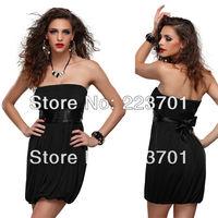 2013 New Arrival Summer Off Shoulder Mini Dresses StraplessWomen Party Dress