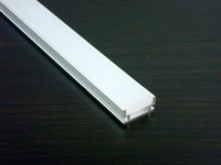 5m/Lot Free shipping 1908 aluminum profile with MILKY cover for width up to 11mm led strips garden decorations floor lighting
