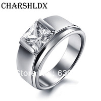 CR1062 Wholesale retail Quality Fashionable High Quality stainless steel wedding bands men jewelry