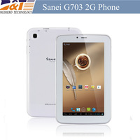 New Arrive G703  7'' A13 2g phone call tablet Android4.2 512MB 8G  Built  WIFI+GSM+Dual camera cheap tablet