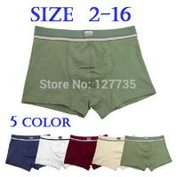 Brand Calcinha Infantil Teenage Panties Boys Cotton Boxer Kids Underwear for 2-16 years old cueca menino