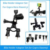 Bike Holder Adapter Set Handlebar Mount Accessories For Gopro camera Hero 3 Hero 3+ 2 SJ4000 New 2014 for Gopro