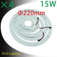 Wholesale 22cm Diameter 15W SMD 5630 Magnetic Led Panel Lights Ring Led Ceiling Lights Board Circular Board Lights Led