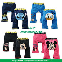 Wholesale 2014 new design baby pants clothing,mickey character pp pant for winter leggings,minnie trousers 12pcs/lot,In stock
