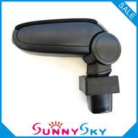 Free Shipping For SUZUKI SWIFT 3 MK3 2005-2010 Center Armrest Console Box  Arm rest  Textile Leather Storage Box Car accessories