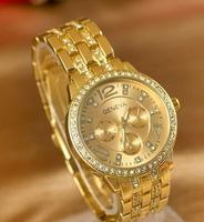 Free Shipping 2014 Hot NEW GENEVA Men Sports Watches brand name watch Quartz Analog ladies Christmas gift Women Dress Watches