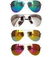 New 2014 Women Pilot Coating Sunglasses Fashion Designed Vintage Glasses For Girls Blue Mirror Sun Glasses Men Unisex Shades