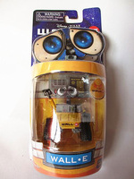 Box packaging Wall-E Toys 6cm Robot WALL E  dolls action figures 4 pcs/set free shipping 0107