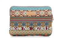 2013 new pop fashion kinmac Bohemia women laptop sleeve bag case cover 10 12 13 14 15 inch notebook bag for ipad MacBook
