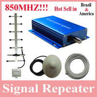 Hot Sell America/Brazil Mini Model Cell Phone 850mhz Signal Booster Amplifier, 850mhz Repeater, 850mhz Booster Amplifier