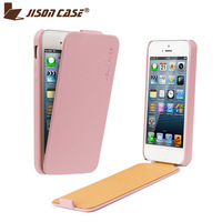 Flip Case For iPhone 5 5s High Quality Leather Thin Design Cover Protective Case For iPhone 5s 10 colors Available Free Shipping