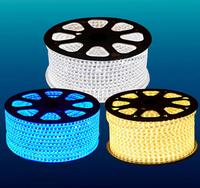 5 X 100M(meter) Waterproof 60LED/m 220V 230V 240V 3528 LED Strip light Flexible Ribbon Red blue yellow green white warm RGB+Plug