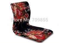(6pcs/lot)Japanese Traditional Furniture For Living Room  Peony  Color Zaisu Legless Floor Tatami Meditation Backrest Chair