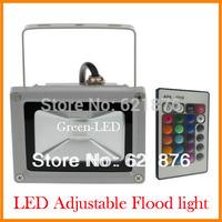 Free shipping AC100-265V IP65 10W 20W 30W 50W Outdoor LED Flood light Outdoor adjustable Wash floodlight White/Warm white/RGB