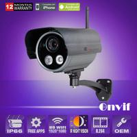 IP Camera Wireless HD 1920*1080P 2MP Array IR-Cut Night vision Outdoor indoor Security Camera P2P Plug and Play Free bracket