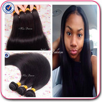 B-Live hair products brazilian straight hair 3 pcs lot free shipping brazilian hair weave bundles human hair weave straight