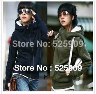 Hot Sale New cheap women Long sleeve hoodie cardigans coat women's hoodie sports wear Track hoodie sweatshirt WF-327