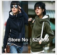 Hot Sale New cheap women Long sleeve hoodie cardigans coat women's hoodie sports wear Track hoodie sweatshirt WF-327