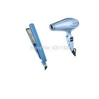 Ionic 6600 Professional Hair Dryer For Salon Hairdryer & Flat Iron 1 1/4 Ceramic Hair Straightener