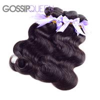 "5A grade peruvian virgin hair body wave 3pcs lot free shipping natural black hair peruvian body wave 8""-30"" human hair extension"