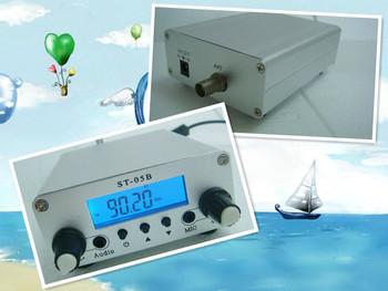 0.2/0.5W Stereo PLL FM Radio Broadcast Station Transmitter ST-05B