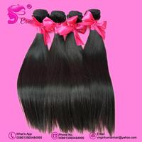 "Mixed length 8""-34"" EVA'S Guranteed 100% unprocessed Filipino virgin hair extension remy silky straight 4pcs/lot Free Shipping"