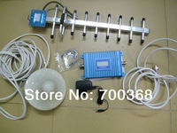 Freeshipping 900mhz GSM990 mobile GSM signal booster, GSM repeater amplifier with 9 unit yagi