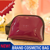 2013 New! Perfect classic PU leather cosmetic bag Fashion simple admission package Cosmetic sorting bags