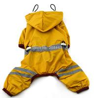 dog sports raincoat pet waterproof clothes puppy apparel doggie rain jacket chiens impermeable perros coats hunde regenmantel