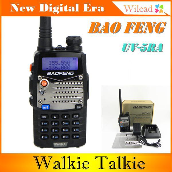 Supernova Sale! Baofeng UV-5RA CB Radio 128CH UHF+VHF DTMF VOX Metal 2-way/Amateur Ham Radio Cheap Walkie Talkie interphone(China (Mainland))