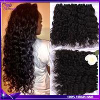 modern show hair malaysian virgin hair 4pcs unprocessed wet and wavy malaysian virgin curly hair malaysian human hair weave 1b