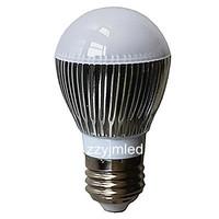 Wholesale - E27 White 3W CREE LED Spot Light 110-240V high quality LED bulbs LED Lamp downlight Ball Lamp