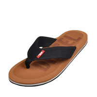 FRee Shipping New Summer Men's Casual Sandals Slippers Flip Flops Rubber Cool Beach Shoes