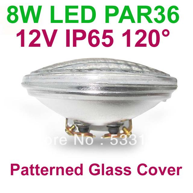 12V led flood light 60pcs SMD5050 LED PAR 36 8W IP65 120degree for garden light or landscape lamp(China (Mainland))