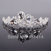 Fashion Designer Rhinestone Beautiful Butterfly Bridal wedding tiaras,Crystal Party Hair Accessories Crowns,Christmas Gifts