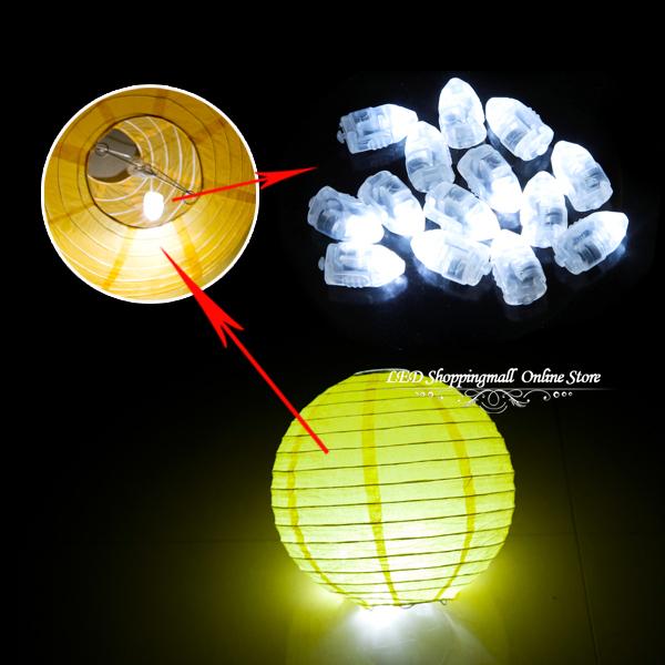 Freeshipping 100pcs/lot LED ballon light,white Balloon lamp for Paper Lantern Balloon wedding party decor(China (Mainland))