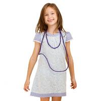 2014 korean fashion design girls dress,short sleeve sweet princess kids dress with lace pattern(GG-220S3)