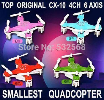 SALE TIME CX-10 ! The World Smallest Drone Remote Control RC Mini Quadcopter Quad copter Helicopter Ar.drone Quadrocopter Drone