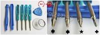 8in1 hand tool 100set (800pcs) opening tool set kit + pocket screwdriver for mobile phone tablet computer repair