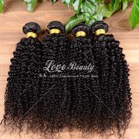 Free shipping 6A Malaysian Virgin Hair 8''-30'' Malaysian Curly Hair With 100% Human Hair Malaysian Kinky Curly Virgin Hair