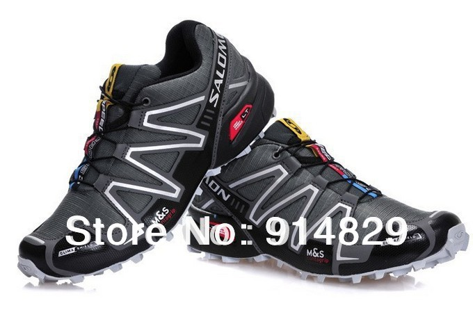 Cheap Wholesale 2013 New Arrival Mens Salomon Running Shoes, Men Athletic Shoes Salomon With Tag Free Shipping!!!(China (Mainland))