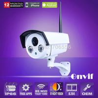 Anran Security HD Wireless Wifi 2.0MP 1080P Network IP Outdoor camera P2P ONVIF Night vision Waterproof Surveillance Camera
