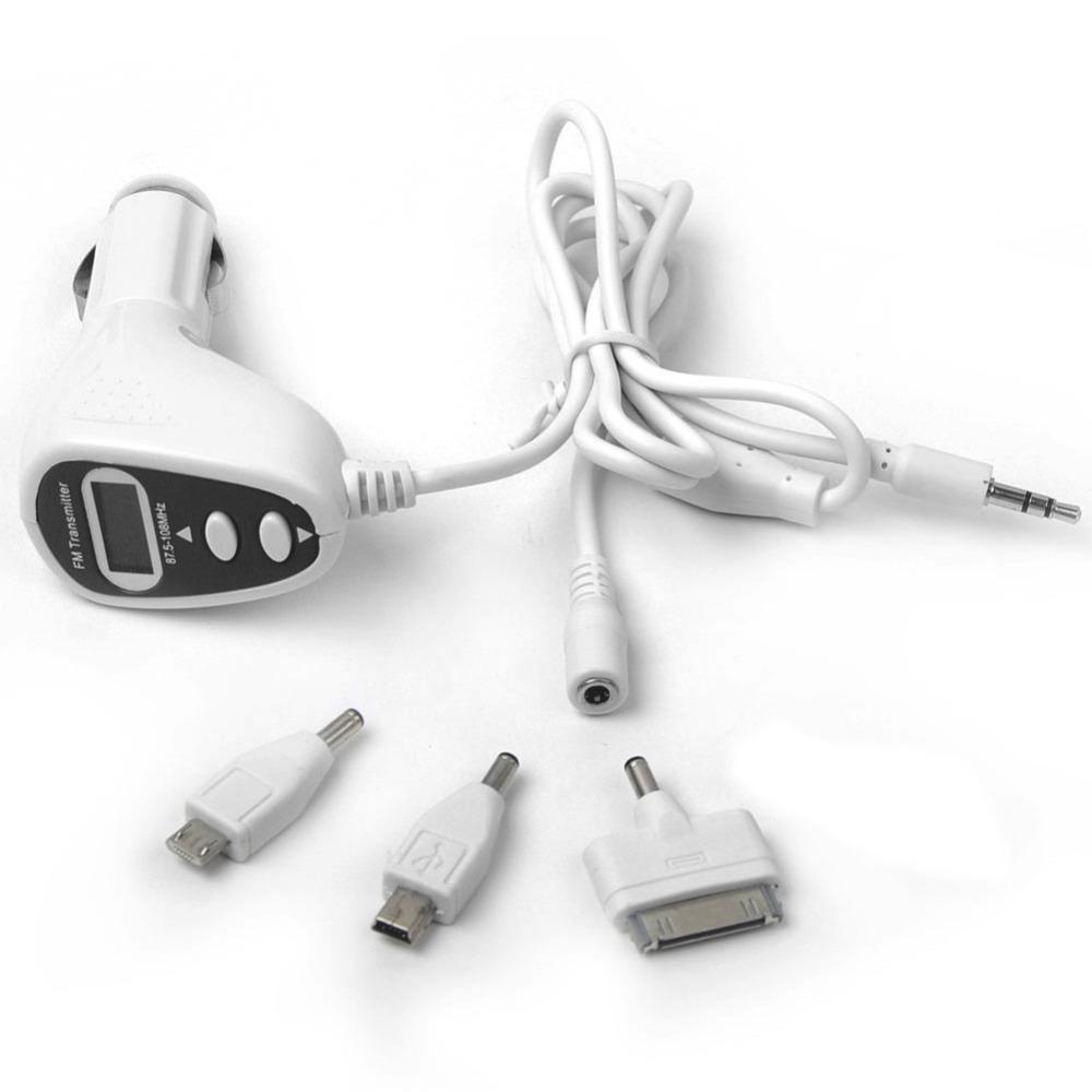 3 in1 Hi-fi FM Transmitter Modulator+LCD Car MP3 Player+Car Charger for iPhone/iPod /Nano/ Blackberry / Sony Ericsson/HTC OT200(China (Mainland))