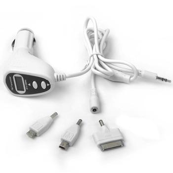 3 in1 Hi-fi FM Transmitter Modulator+LCD Car MP3 Player+Car Charger for iPhone/iPod /Nano/ Blackberry / Sony Ericsson/HTC OT200