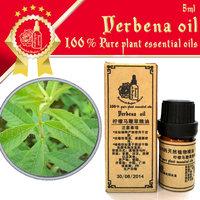 100% pure plant essential oils Lemon verbena oil 5ml Antibacterial Facilitate digestion Soft skin Insecticidal