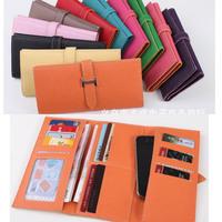 new fashion lady women card holder case purse clutch wallet high quality three fold bag handbag PU gift free shipping gift