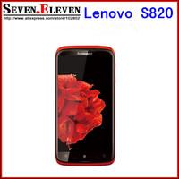 Original Lenovo S820 MTK6589 Quad core 1G RAM+4G ROM Android 4.2 Mobile phone 4.7''IPS 1280x720px Dual Sim 13mp Camera FreeShip
